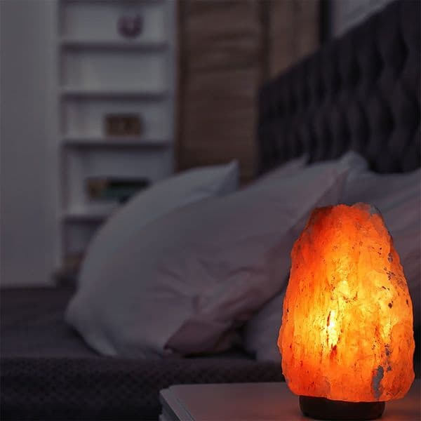 Buy Premium Himalayan Salt Lamp 2-3kg - Tested High-Quality Bulb and Cable Included.   Saltanltd.com
